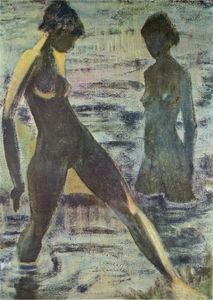 Otto Mueller - Large bathers