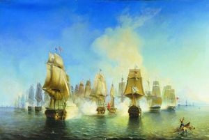 Alexey Petrovich Bogolyub.. - The Battle of Athos
