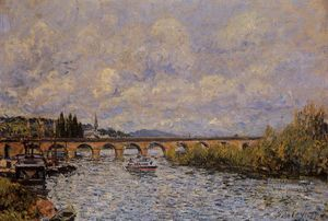 Alfred Sisley - The Sevres Bridge