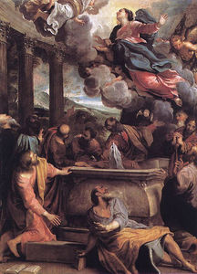 Annibale Carracci - The Assumption of the Virgin
