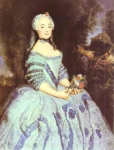 Antoine Pesne - The Actress Babette Cochois