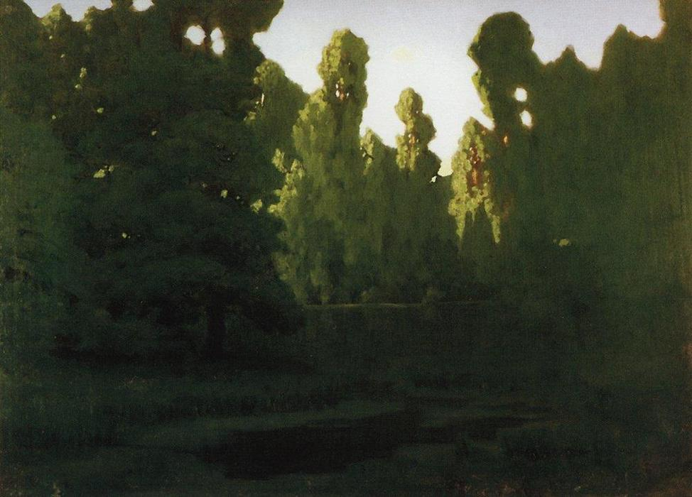 Order Paintings Reproductions | Forest by Arkhip Ivanovich Kuinji (1842-1910, Russia) | ArtsDot.com