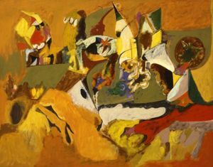 Arshile Gorky - Golden Brown Painting