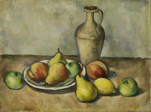 Pears, Peaches, and Pitcher, Oil On Canvas by Arshile Gorky (1904-1948, Turkey)