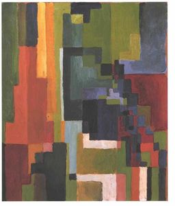 August Macke - Colourfull shapes
