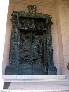 François Auguste René Rodin - The Gates of Hell