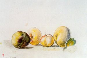 Balthus (Balthasar Klossowski) - Still Life (quince and pear)