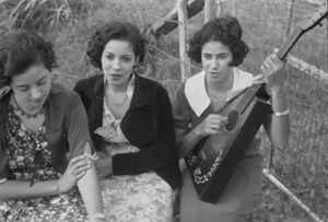 Benjamin Shahn - Three Creole Girls
