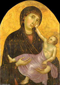 Cimabue - Madonna with Child