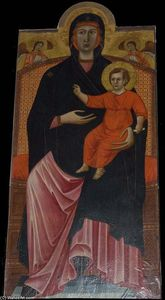 Cimabue - Virgin and Child
