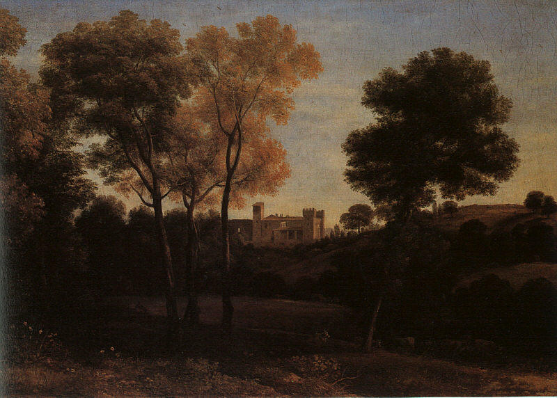 View of La Crescenza, Oil On Canvas by Claude Lorrain (Claude Gellée)
