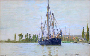 Claude Monet - The Sailing Boat