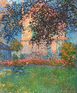 Claude Monet - The Artist-s House in Argenteuil