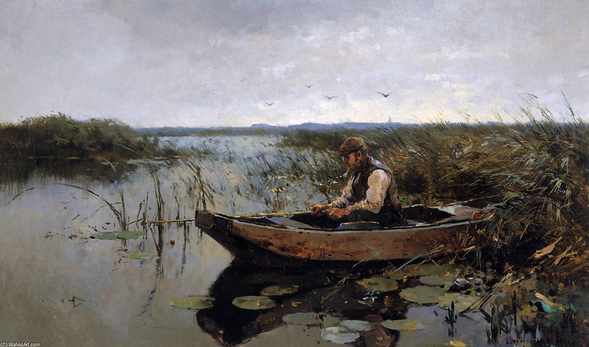 живопись рыбалка картинки