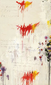 Cy Twombly - FOUR SEASONS, PART I, SPR..