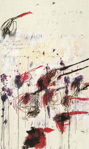 Cy Twombly - Four Seasons, Autumn Part..