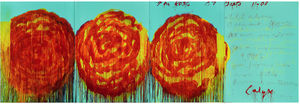 Cy Twombly - The Rose (II)