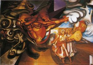 David Alfaro Siqueiros - For Complete Social Secur..