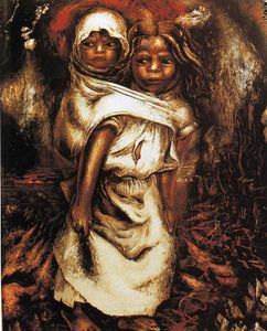 David Alfaro Siqueiros - The Child Mother