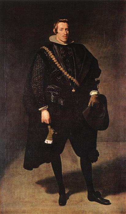 Portrait of Infante Don Carlos, Oil On Canvas by Diego Velazquez (1599-1660, Spain)