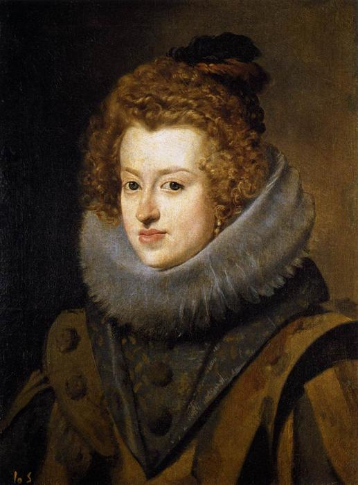 The Infanta Maria of Austria, 1630 by Diego Velazquez (1599-1660, Spain) | Oil Painting | ArtsDot.com