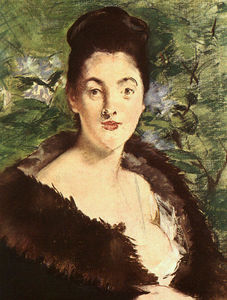 Edouard Manet - Lady in a fur