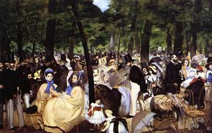 Edouard Manet - Music in the Tuileries Ga..
