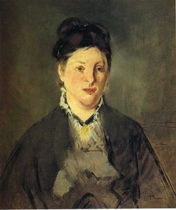 Edouard Manet - Portrait of Suzanne Manet