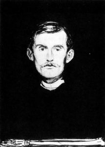 Edvard Munch - Self-Portrait I