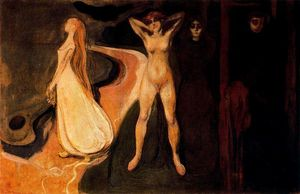 Edvard Munch - The Three Stages of Woman (Sphinx).