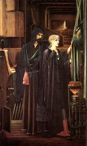 Edward Coley Burne-Jones - The Wizard