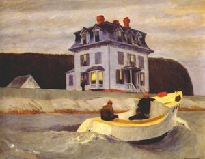 Edward Hopper - The Bootleggers