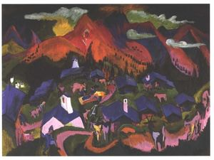 Ernst Ludwig Kirchner - Return of the Animals