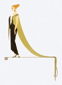 Erté (Romain De Tirtoff) - Ready for the Ball 2