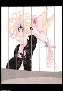 Erté (Romain De Tirtoff) - The Bird Cage