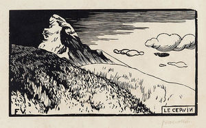 Felix Vallotton - The Matterhorn (Matterhorn)