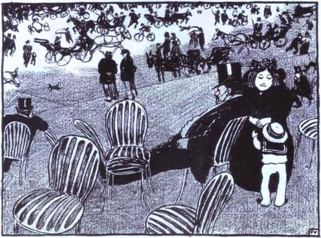 Buy Museum Art Reproductions | The Beautiful Sunday, 1895 by Felix Vallotton (1865-1925, Switzerland) | ArtsDot.com