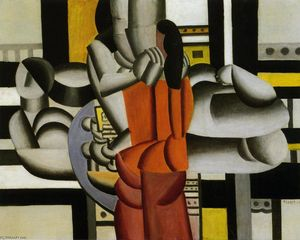 Fernand Leger - Three women with the still life