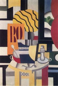 Fernand Leger - Still life with candle