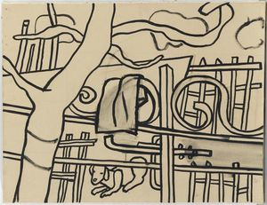 Fernand Leger - At the farm