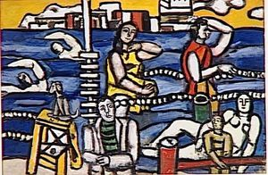 Fernand Leger - Swimming