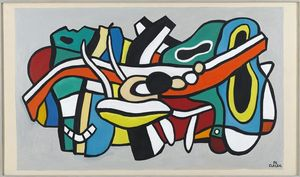 Fernand Leger - Project for a mural
