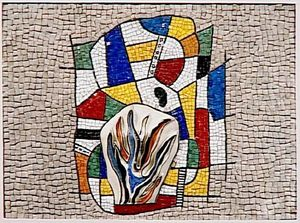 Fernand Leger - Model for building the gas from France to Alford