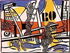 Fernand Leger - The Port of Trouville