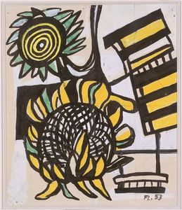 Fernand Leger - Sunflowers