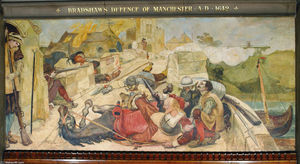 Ford Madox Brown - Bradshaw-s defence of Manchester