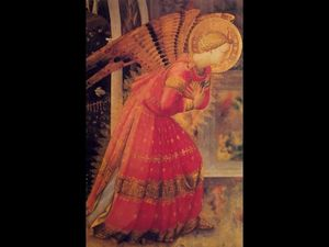 Fra Angelico - Annunciation (detail)