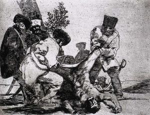 Francisco De Goya - What more can one do-