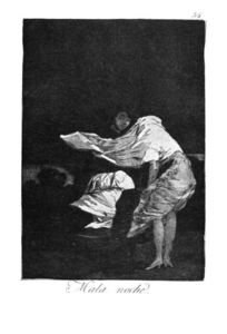 Francisco De Goya - Bad night