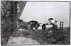 Francisco De Goya - The Bravery of Martincho in the Ring of Saragassa